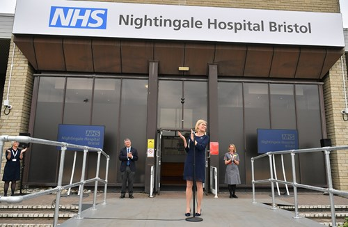 The NHS Nightingale Hospital Bristol at UWE
