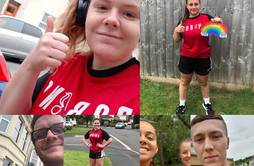 Running Robins raise over £1700 for good causes