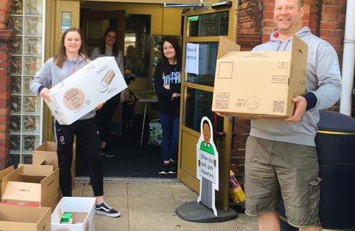 Foundation's 2.6 Challenge to raise funds for food delivery scheme