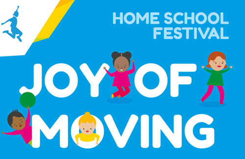 Over 250,000 children got active and had fun with the Joy of Moving Festival