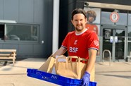 Foundation raises £2,340 for food delivery scheme