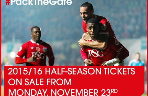 Bristol City Half-Season Ticket Prices Revealed