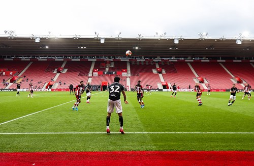 Watch: Behind the scenes at Southampton