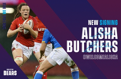 Alisha Butchers signs for Bears Women