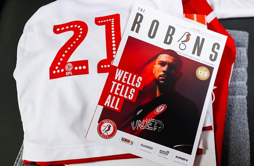 The Robins Matchday Programme goes digital