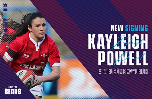 Wales' Kayleigh Powell joins the Bears Women ranks
