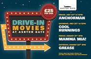 Ashton Gate reveals four-night movie line-up