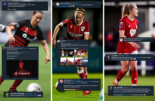 Social Media Round-up: City Women signings