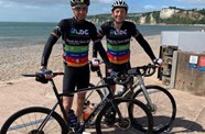 Duo complete mammoth Break the Cycle 2020 fundraising ride
