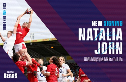 Natalia John joins Bristol Bears Women