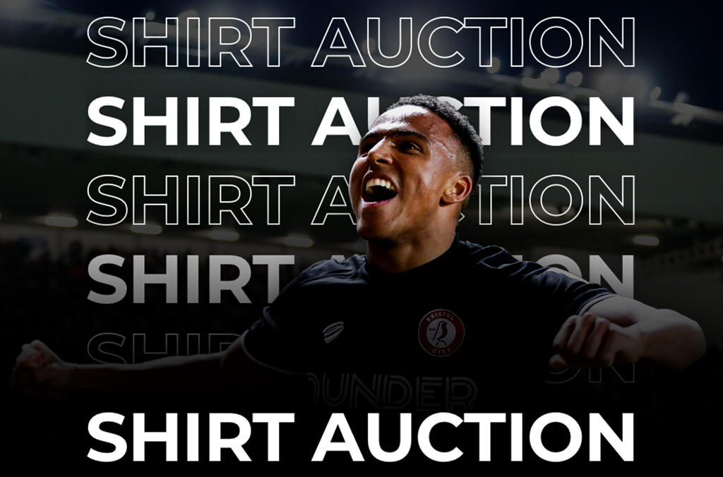 Last chance to bid for signed match worn City shirts