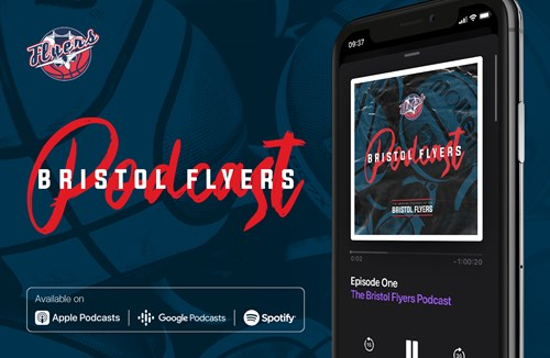 Listen to episode one of the NEW Bristol Flyers Podcast!