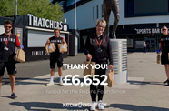 Shirt auction raises more than £6,000 for charity