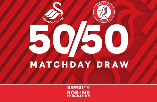 Take part in today's 50/50 Matchday Draw