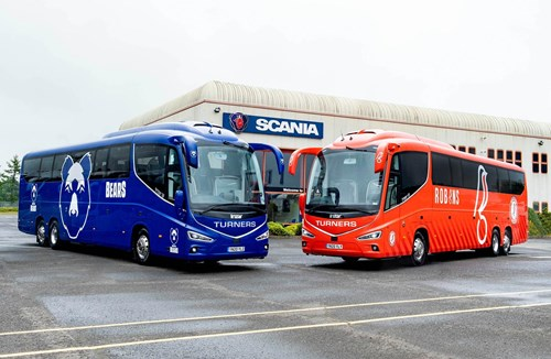 Bristol City partner with Turners Coachways