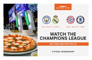 Enjoy the Champions League at Ashton Gate Sports Bar & Pizzeria