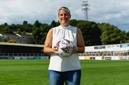 Watch: Tanya Oxtoby's first interview at Twerton Park