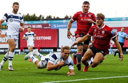 Video: Gloucester Rugby 24-33 Bristol Bears