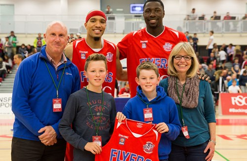 Flyers Family Community Spirit On Show At London Lions