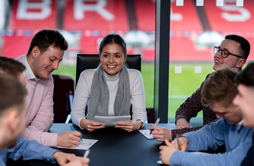 Study a degree at Ashton Gate