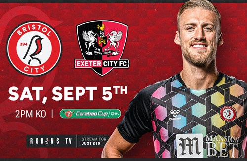 Carabao Cup tie available on Robins TV