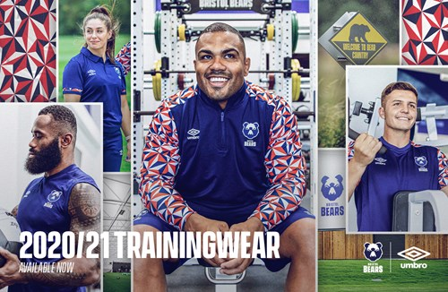 Bears launch Umbro high-performance training wear collection