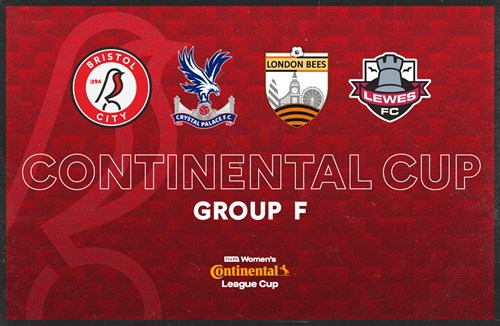 City Women Continental Cup group confirmed