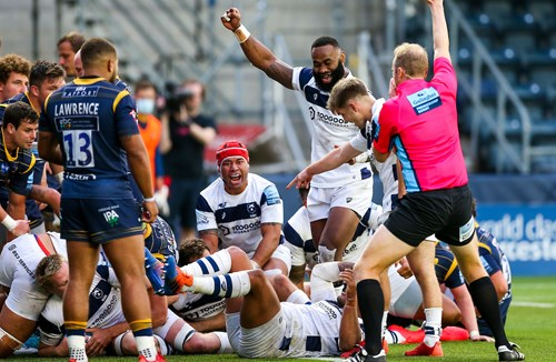 Video: Worcester Warriors 13-36 Bristol Bears