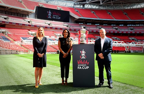 Vitality named new title sponsor of Women's FA Cup