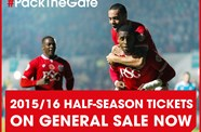 Bristol City Half-Season Tickets On Sale