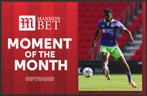 Bakinson wins MansionBet Moment of the Month