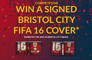 Competition: Win A Signed Bristol City FIFA 16 Cover