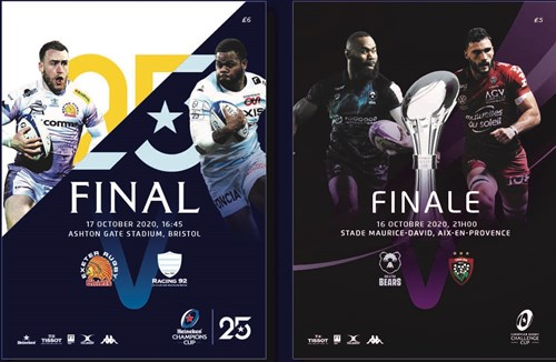 Challenge Cup final – official EPCR match programme for sale