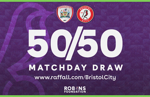 Win up to £1000 in today's 50/50 Matchday Draw