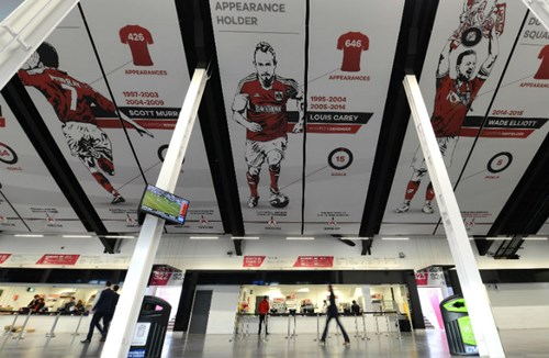 South Stand Concourse Unveiled