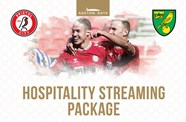 Enjoy Ashton Gate hospitality at the Norwich match