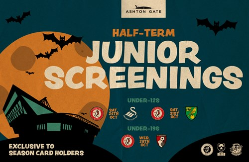 Junior event screening and stadium tours available