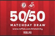 Win up to £1000 in this afternoon's 50/50 Matchday Draw