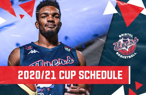 Flyers 2020/21 BBL Cup schedule revealed