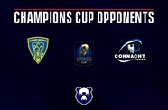 Bears' Champions Cup opponents revealed