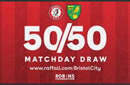 Enter today's 50/50 Matchday Draw