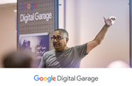 Sign up for webinar training with Google Digital Garage