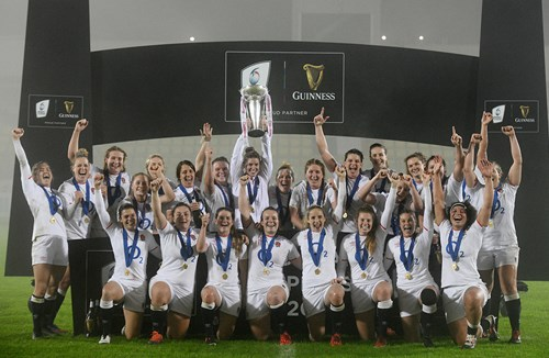 Red Roses crowned Grand Slam Champions in style