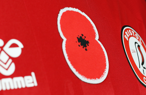 Get your hands on a signed match worn poppy shirt