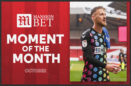 Bentley wins MansionBet Moment of the Month