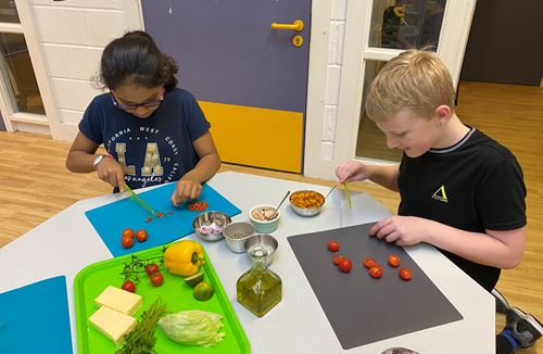 Working together to tackle inactivity and food insecurity
