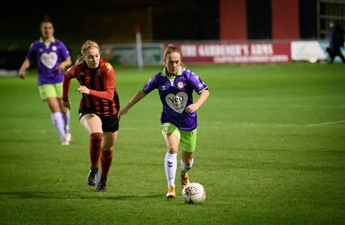 Gallery: City Women secure Conti Cup knockout spot