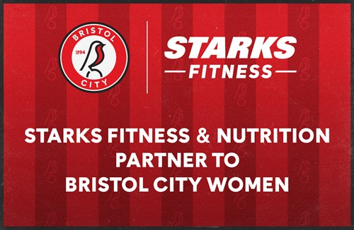 Starks Fitness announced as City Women's gym and nutrition partner