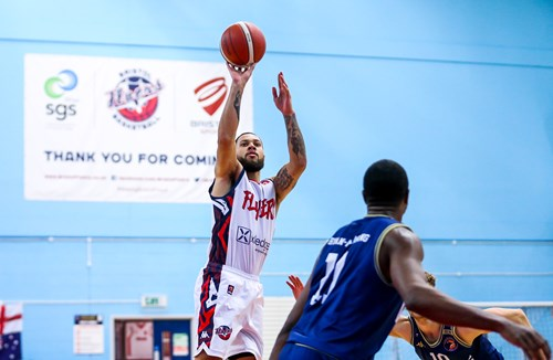 Highlights: Bristol Flyers 64-69 Worcester Wolves
