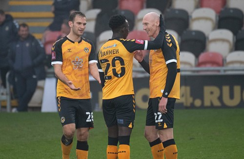 Loan watch: Janneh strikes as Newport advance